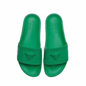 Sandalias Versace Gucci Verde Envío Gratis