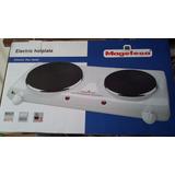 Cocina Electrica 2 Hornillas 110v Nueva Magefesa