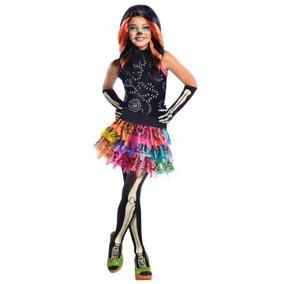 Disfraz Niña Skelita Calaveras Monster High Halloween