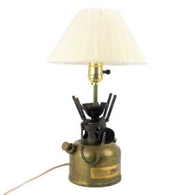 Lámpara Vintage Antigua Estufa Petroleo Conv Eléctrica