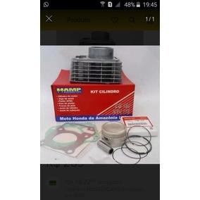 Jogo De Motor Completo Cilindro Pistão E Anéis Cg 125