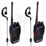 Kit 2 Rádio Comunicador Walk Talk Baofeng 777s+ Fone