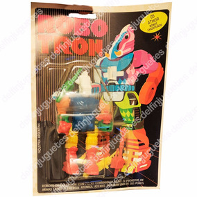 Robotron Robo Tron Athor 05 Robot Lanza Puños Mazinger