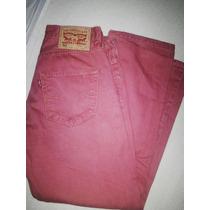Jean Levis 501 30 Rojo Original (largo Modificado)