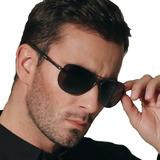 Oculos Escuros Aviador Masculino Feminino Polarizado