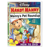 Playhouse Disney Manny Práctico: Manny Mascotas Roundup Dvd