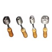 Sellos Letras Empanadas Fundición De Aluminio Set X 6 Unid