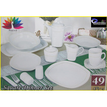 Vajilla De Porcelana 49 Piezas
