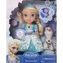 Disney Frozen Muñeca Glowing Elsa Canta Y Se Ilumina Video