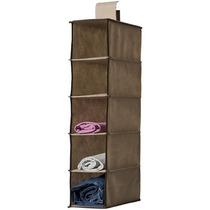 Organizador Sapateira Vertical Closet Armário 5 Divisórias