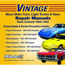 Mitchell Ondemand5 Vintage Launch 1960 A 1982 Automotriz