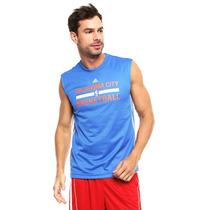 Adidas - Playera Adidas Wntr Hps Rev Sl - Azul - Aa7952 C