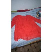 Blusa De Dama Color Rojo