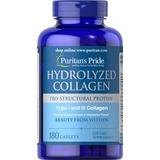 Colageno Hidrolizado 1000mg Con Vitamina C 180 Tabletas Usa