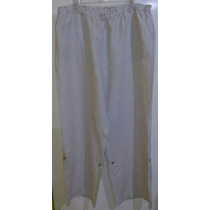 Pantalon Lino Convertible Dama Talla Extra 2x Envio Gratis