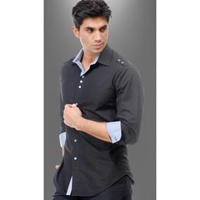 Camisa Para Uniforme Para Caballero En Algodón Egipcio