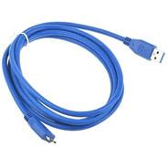 Cable Micro Usb 3.0 Tipo B 1.5m Disco Externo Toshiba Sony