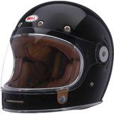 8fae46e15 Capacete Bell Bullitt Preto Brilho Retro Custom-tam G 58 59