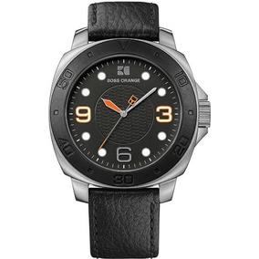 c2f11c523e07 Hugo Boss Orange Black Leather Strap 1512862 - Joyas y Relojes en ...