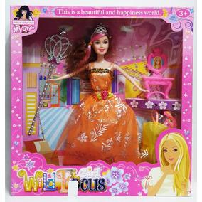Muñeca Girl Wild Focus Juguete De Niña Tipo Barbie