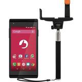 Smartphone Positivo Selfie Dual S455 Preto + Bastão Selfie