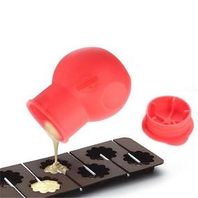 Jarrón De Silicon Para Mezcla Para Pasteles Chocolate