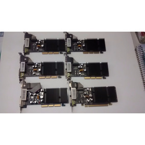 Kit Placa Mãe Via Agp Geforce Gf 6200 256mb (usada)