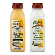 Shampoo + Acodicionador Fructis Hair Food Coco