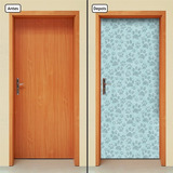 Adesivo Decorativo De Porta - Pet Shop - Patinhas - 769mlpt