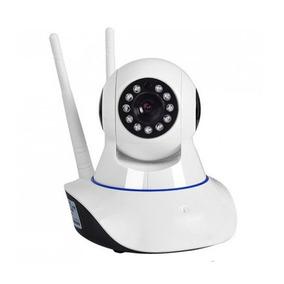 Câmera Ip Sem Fio Wifi Hd 720p Robo Grava Em Cartão Sd