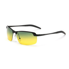 Visión Nocturna De Hombres Día Polarizado Gafas De Sol Gafas