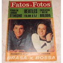Fatos E Fotos Nº 273 - Abr/1966 - Roberto Carlos Elis Regina