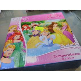 Rompecabezas Princesas Y Princesa Sofía 12pz