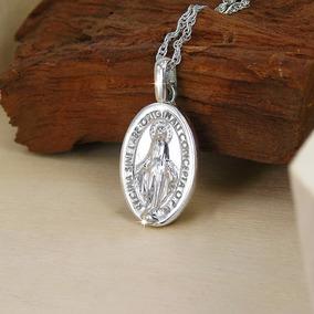 13b15e0ab396 Medalla Virgen De Los Rayos Oro - Joyería en Mercado Libre Chile