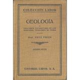 Geologia Tomo 1 X Fritz Frech