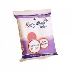 Lenços Umedecidos - 20 Unidades - Pocket - Baby Bath