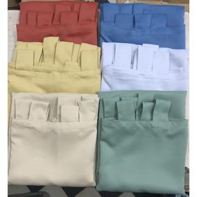 Cortina Blackout Textil 2,10 X 1,40 Mts 2 Paños P/ Colgar