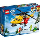 Lego 60179 - Lego City - Helicóptero-ambulância