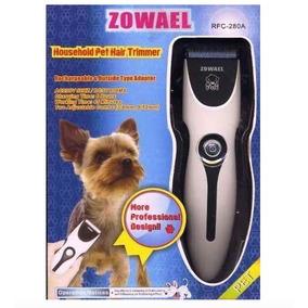 Tosquiadeira Pet Zowael Maquina De Tosa Cães Gatos Kit 220v