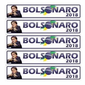 Adesivos Bolsonaro 2018 Carro, Moto, Caminhão;