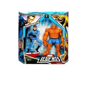 Marvel Legends 2 Pk Figura Mr Fantastico Cosa