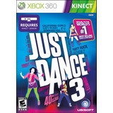 Just Dance 3 Xbox 360 Video Juego De Kinect