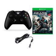 Control Xbox One Inalambric Microsoft + Codigo Gears Of War4