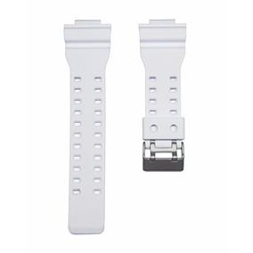 Pulseira Branca Para Casio G-shock Ga-100 Gd-100 E Outros
