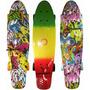 Minicruiser Longboard Penny Skate Patineta Moolahh Vinyl 22