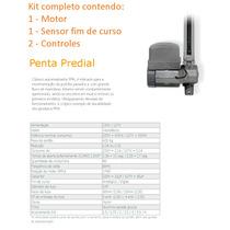 Kit Motor De Portão Automático Basculante 1/2 Hp Penta Ppa