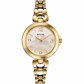 Reloj Bulova 97l138 Mujer Tienda Oficial Envió Gratis.