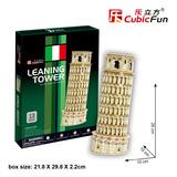 Cubicfun Rompecabezas 3d Torre Inclinada De Pisa 13 Piezas