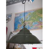 Lámpara Galponera Enlosada Vintage Est Industrial