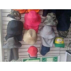 Sombrero Con Protector De Cuello, Sol, Playa, Cazador Solapa